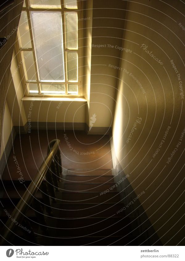 Sun House (Residential Structure) Dark Stairs Living or residing Mysterious Upward Ascending Hallway Career Downward Staircase (Hallway) Tenant