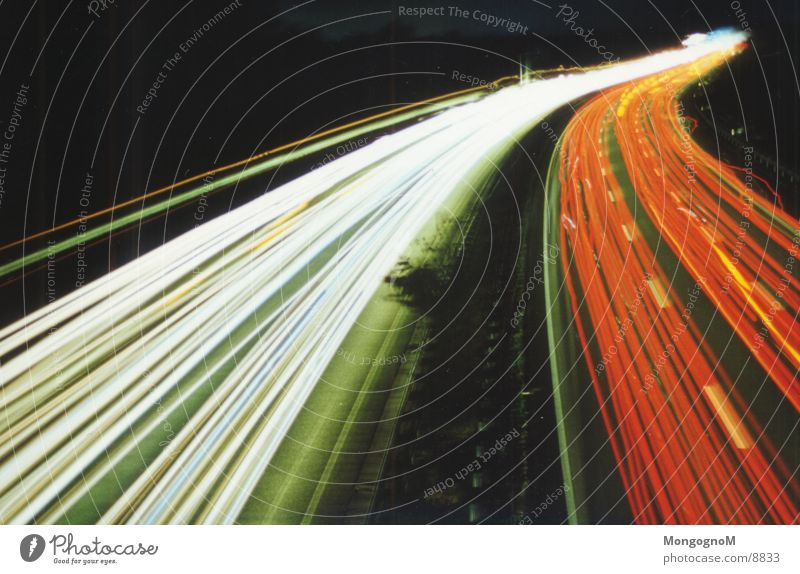 Red Dark Road traffic Transport Speed Highway Tracer path