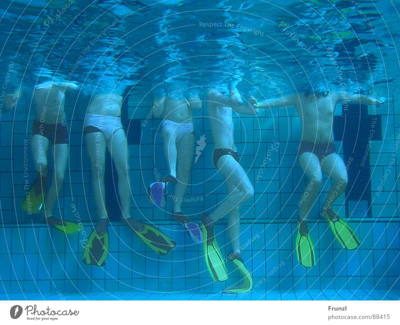 Man Water Blue Sports Playing Underwater photo Swimming pool Water wings