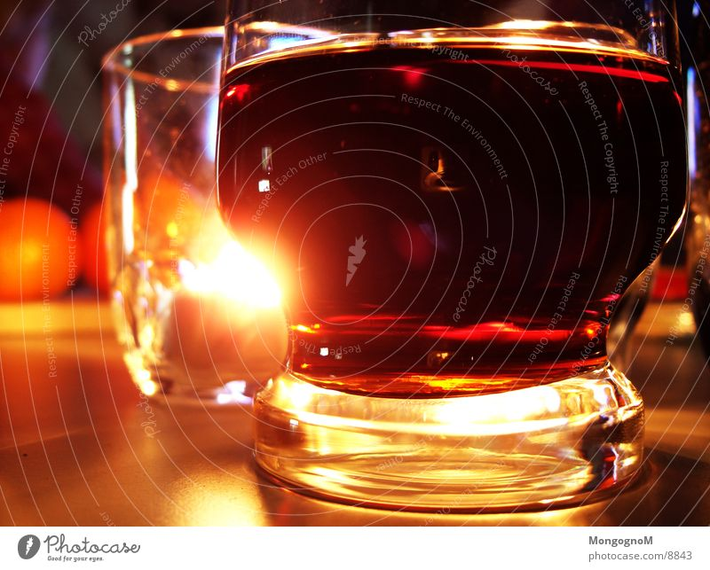 Glass Candle Alcoholic drinks Cola