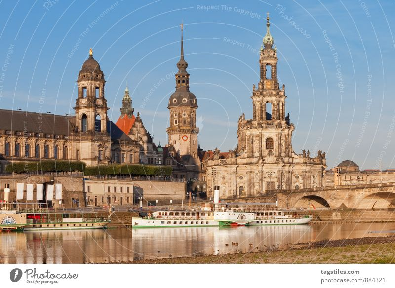 Nature Vacation & Travel City Relaxation Travel photography Architecture Religion and faith Germany Idyll Church Bridge Culture Card Heavenly Capital city