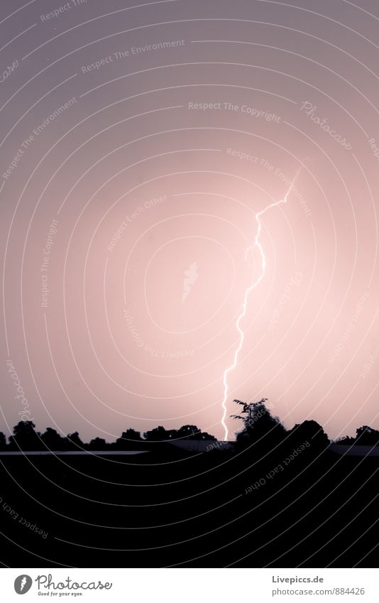 White Black Autumn Rain Violet Storm Lightning Thunder and lightning Bad weather Lightning bolt
