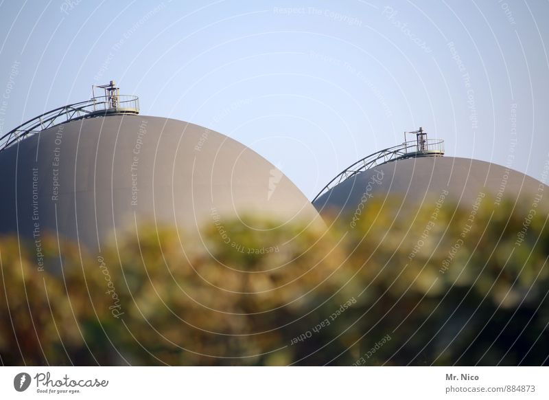 Environment Feminine Energy industry Breasts Round Factory Cloudless sky Sphere Industrial plant Unclear Renewable energy Nipple Tank Boiler Cup size