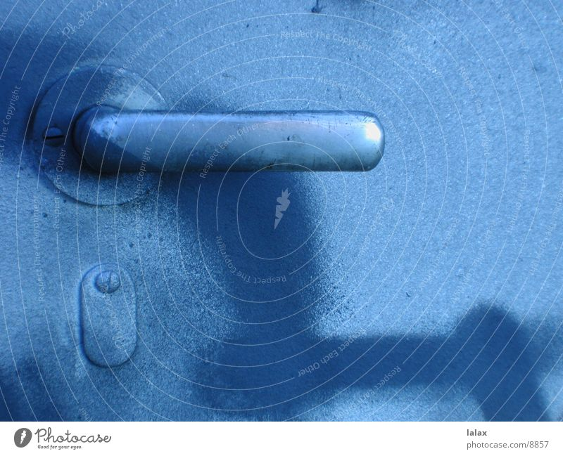 door handle blue Door handle Things