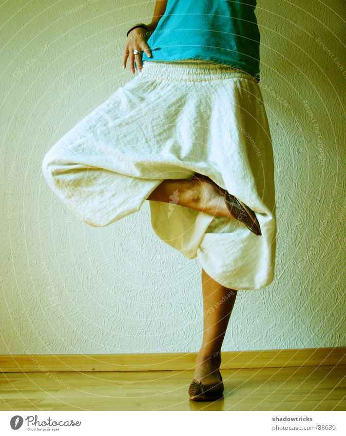 Fashion from India Pants Posture Woman Feminine Footwear Hand Green Clothing Wallpaper Stand Legs garment One-legged one-leggedness On one leg
