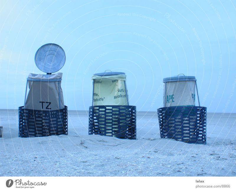 beach bin Beach Trash container Things