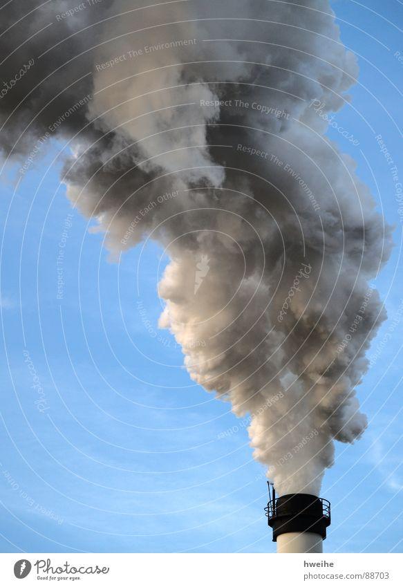 smokey Smoke Exhaust gas Environmental pollution Carbon dioxide Carbon monoxide Sugar refinery Factory Smog Greenhouse gas Climate change Automotive industry
