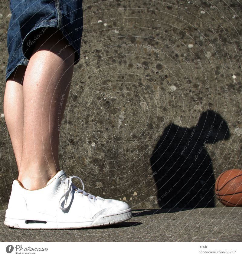 Sports Wall (barrier) Playing Legs Head Footwear Fantastic Concrete Floor covering Asphalt Ball Jeans Boredom Stockings Farmer Basketball