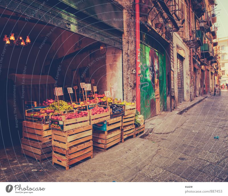 Vacation & Travel City Old Architecture Building Food Facade Fruit Dirty Gloomy Fresh Tourism Authentic Nutrition Transience Italy