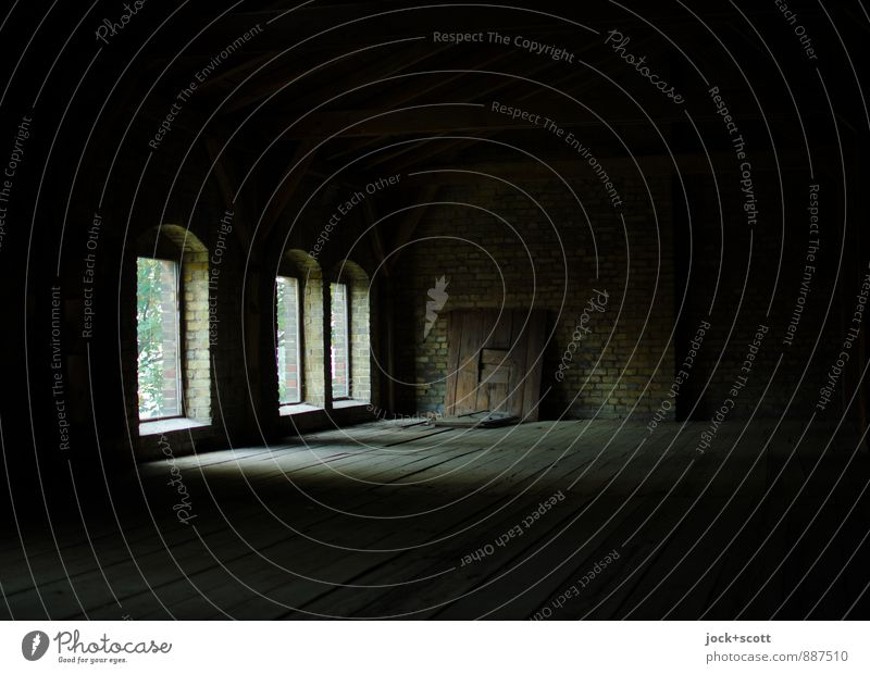Loneliness Black Dark Window Time Room Free Empty Simple Change Protection Infinity Logistics Historic Factory Decline