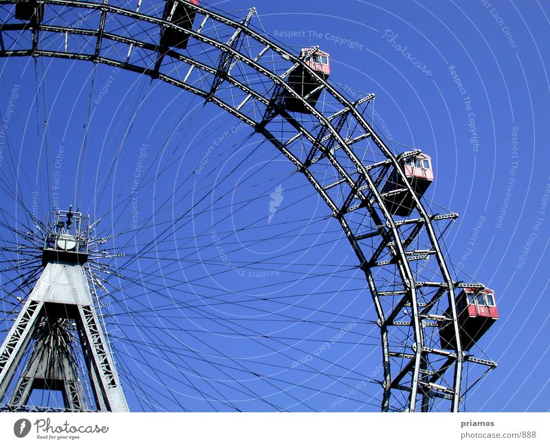 Movement Steel Vantage point Vienna Ferris wheel