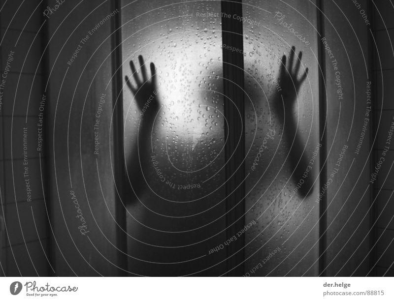 Fear Dangerous Bathroom Threat Tile Shower (Installation) Extraterrestrial being Ambush Take a shower