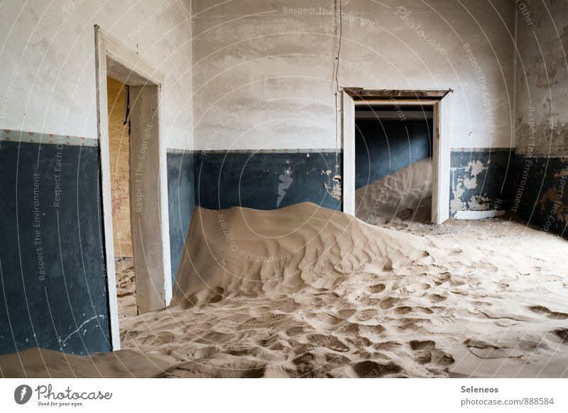 and I still say, close the door. Vacation & Travel Tourism Trip Adventure Far-off places Summer Desert Deserted House (Residential Structure) Wall (barrier)
