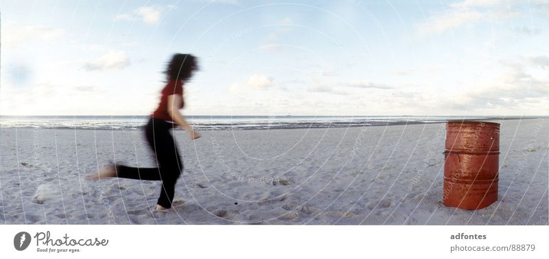Water Beach Air Dance Power Coast Large Force Part Panorama (Format) Schillig