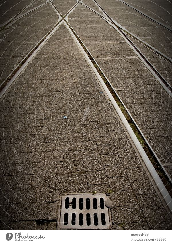 7SEVENHUNDRED5FIFTY0 Town Asphalt Gray Under Pedestrian Transport Gloomy Pattern Background picture Structures and shapes Square Graphic White Highway Style