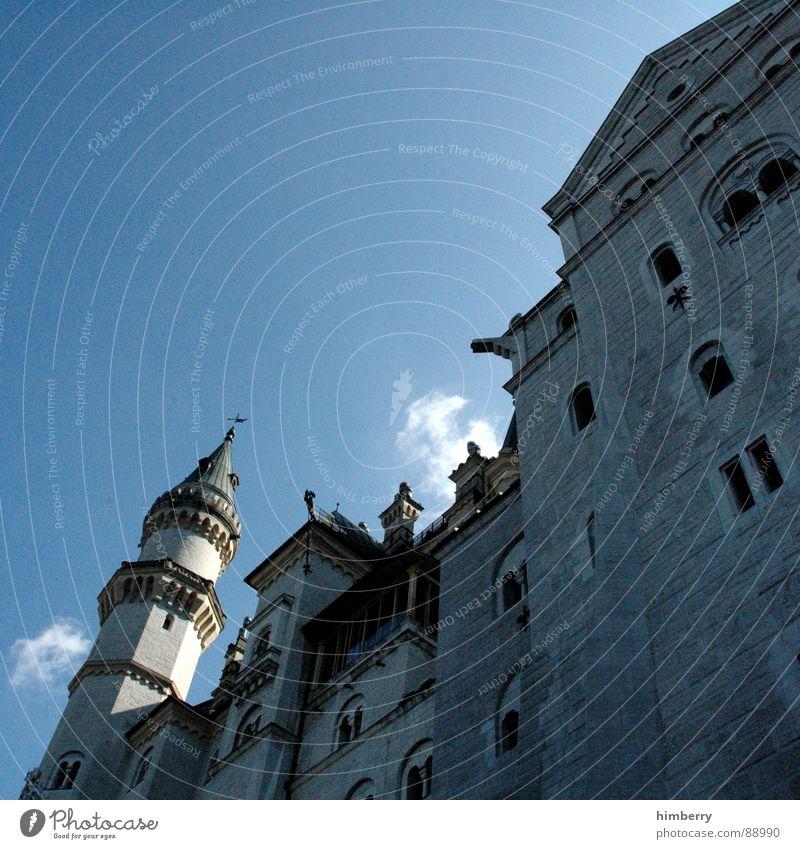 Germany Tower Castle Monument Historic Landmark King Palace Retreat Neuschwanstein