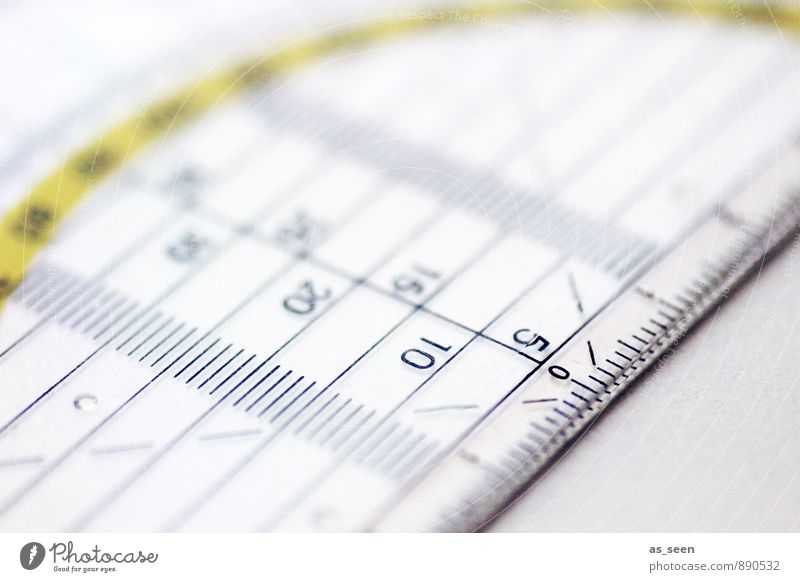 measurement Ruler Protractor triangle Tape measure Metre-stick Plastic Digits and numbers Draw Authentic Sharp-edged Firm Cold Point Yellow Attentive Judicious