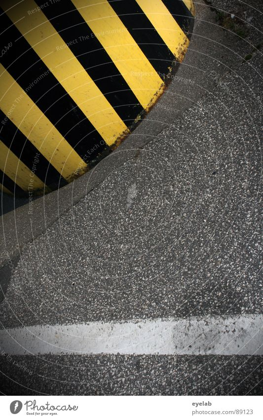 White Black Yellow Street Gray Line Dirty Concrete Transport Dangerous Industrial Photography Threat Stop Stripe Border Manmade structures