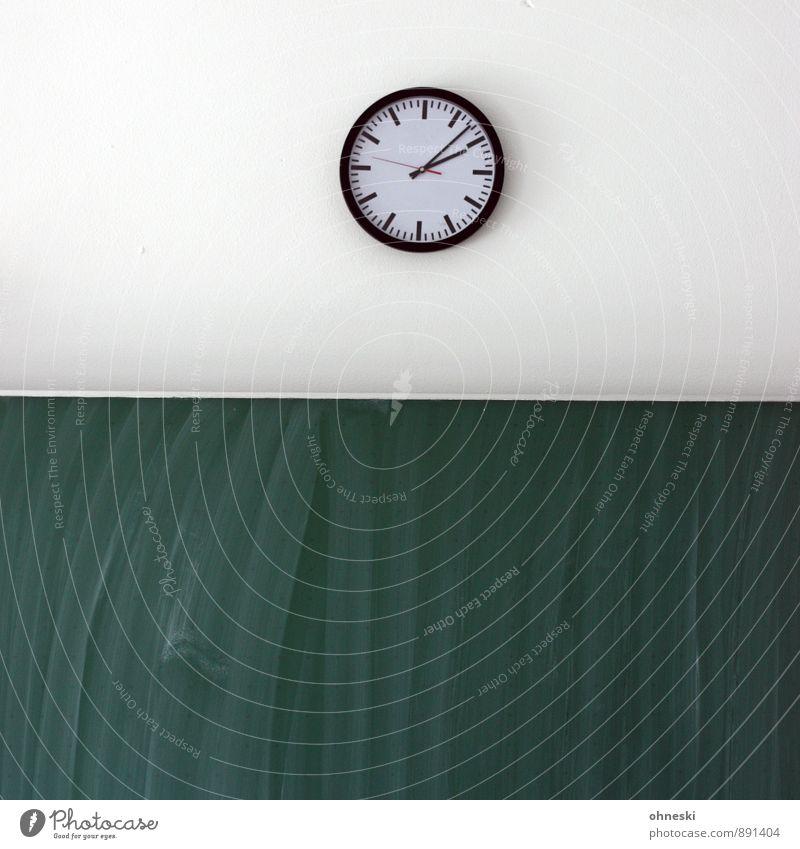 Time School Clock Study Education Blackboard