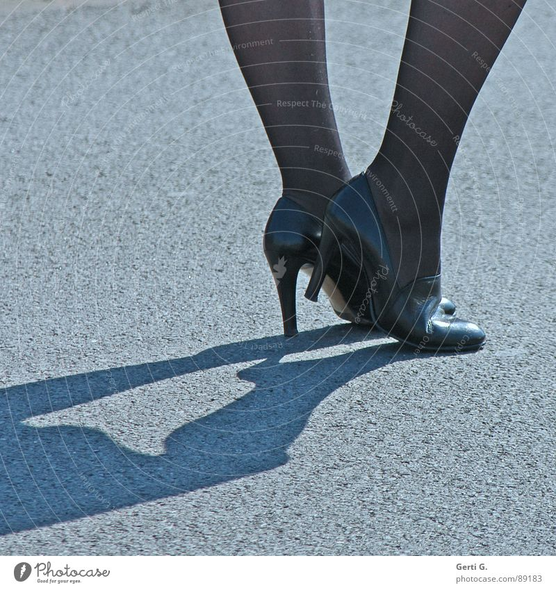 Beautiful Street Movement Legs Feet Footwear Going Wait Stand Floor covering Clothing Thin Services Luxury Tights Landing