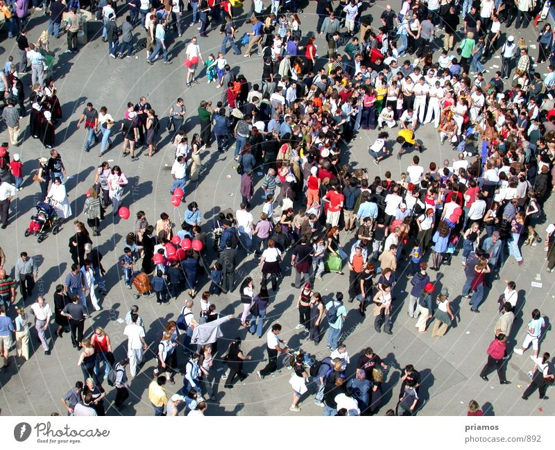cluster of people Human being Accumulation Assembly Places Crowd of people Street