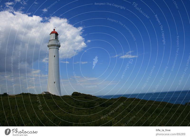 tower_de_light Lighthouse Australia Sky Landmark Monument house_of_light solitary guard Blue sky Rescue in distress Split Point Lighthouse