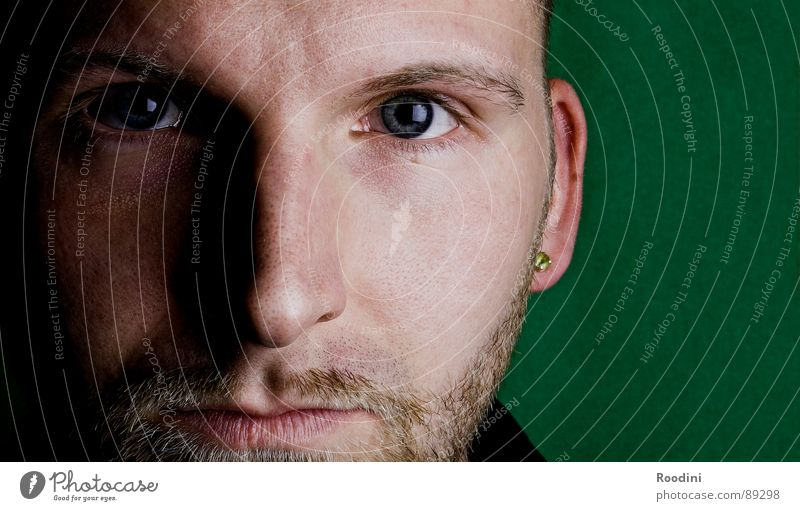Man Face Eyes Emotions Mouth Wait Skin Nose Perspective Near Trust Concentrate Facial hair Facial expression Ask Self portrait