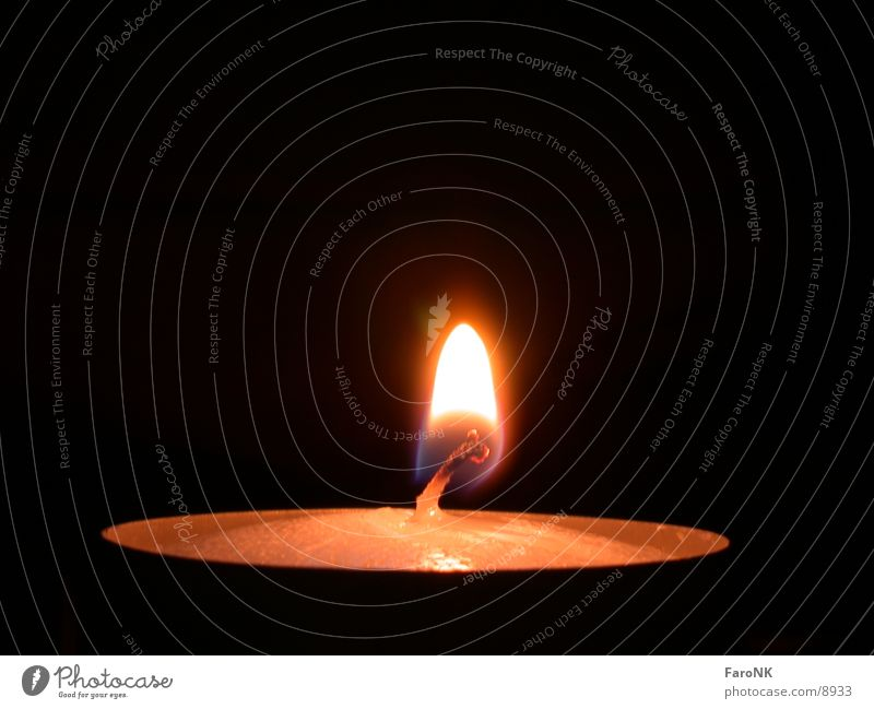 Candle Flame Photographic technology
