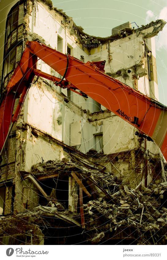 Sky House (Residential Structure) Clouds Wall (building) Flat (apartment) End Trash Transience Derelict Decline Crack & Rip & Tear Destruction Dismantling