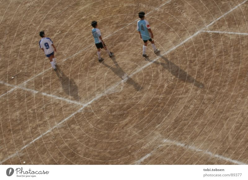 football field - the third Valencia Brown Ball sports Sports team Strike Neutral color Sporting grounds Young man Beige Darken Playing field Bright Places