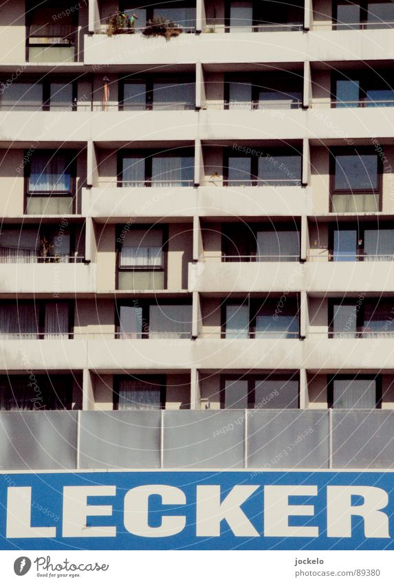 Blue Summer Window Gray Concrete High-rise Delicious Balcony Markets Living room Boredom Seventies Prefab construction Drugstore Supermarket