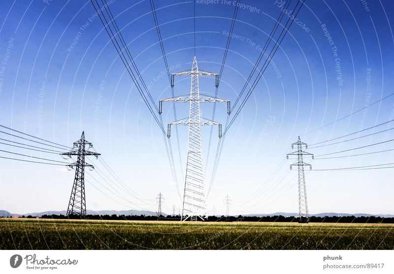 Field Industry Safety Energy industry Cable Americas Electricity pylon Transmission lines Provision