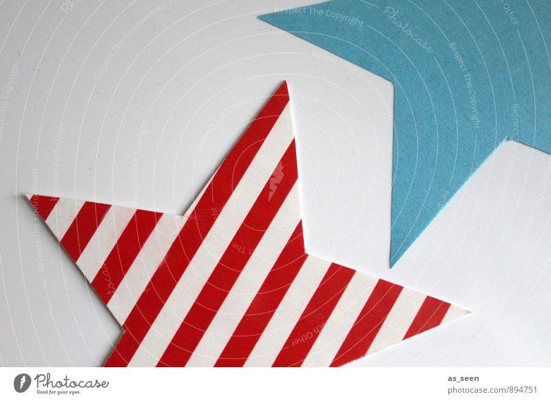 stars & stripes Elegant Style Design Handicraft Interior design Decoration Christmas & Advent Art Pop culture Pop Art Paper Stripe Star (Symbol)