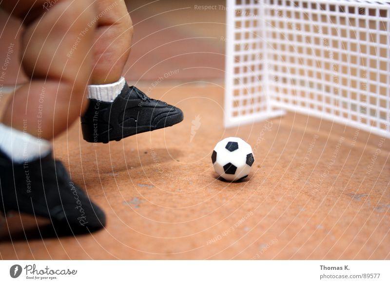 Sports Playing Feet Footwear Legs Soccer Fingers Ball Gate Sneakers