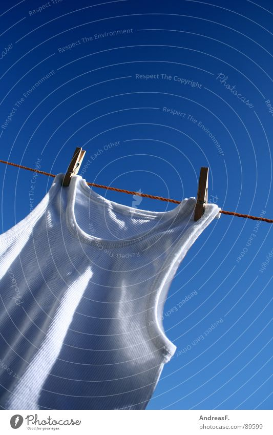 Sky White Summer Warmth Rope Clean Physics Shirt Underwear Laundry Household Blue sky Washer Dry Clothesline Holder