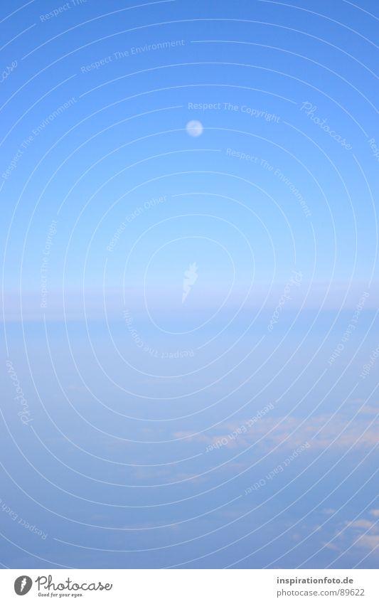 Sky Blue Clouds Bright Glittering Fog Horizon Earth Aviation Floor covering Moon Vail