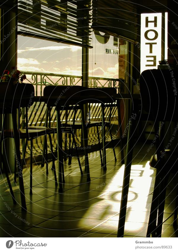 sea view Hotel Table Vantage point France Vacation & Travel Memory Gastronomy keywords annoying Chair Shadow