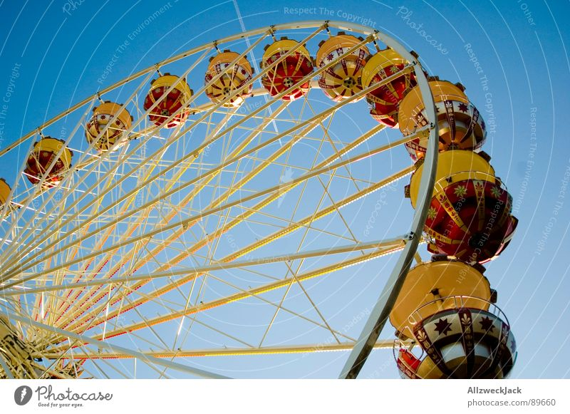 Sky Blue Joy Metal Airplane Tall Circle Round Level Infancy Services Fairs & Carnivals Iron Ferris wheel Aspire Showman