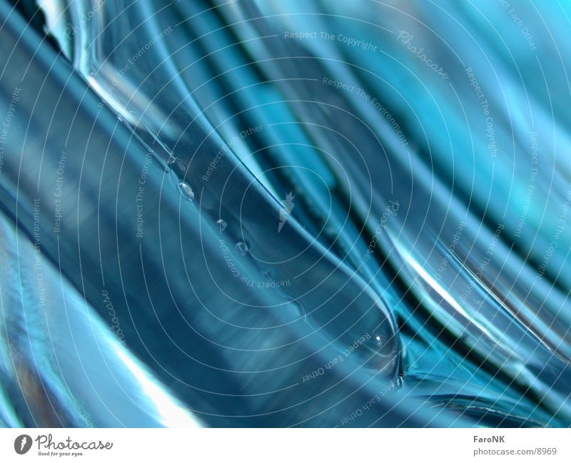blue wave Waves Photographic technology Blue