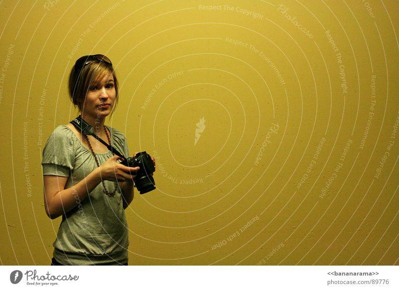 Yellow Style Photography Blonde Design Camera Lady Creativity Photographer Photo shoot Woman Digital camera Stratego