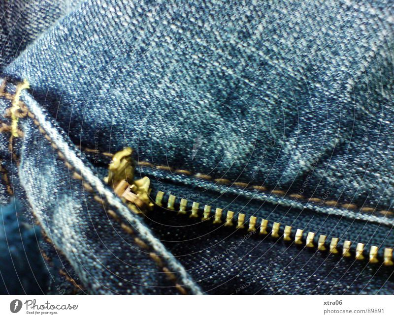 jeans 2 Jeans Cloth Zipper Extract Denim Pants Undo Ready Clothing Open Wrinkles Blue garment