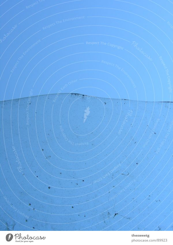 Water Ocean Blue Waves Dirty Glass Clean Pure Clarity Border Obscure Division Transparent Divide Hideous Dreary