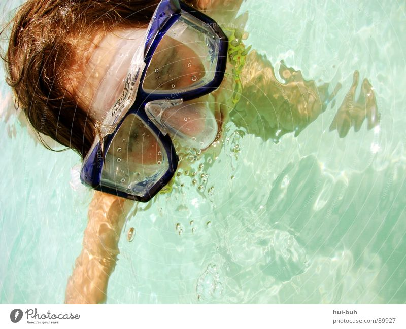 A little bit of vacation. Dive Girl Diving goggles Eyeglasses Breathe Air Clean Spit Vacation & Travel Stick Wet Physics Oxygen Emerge Dream Cot Calm Bla