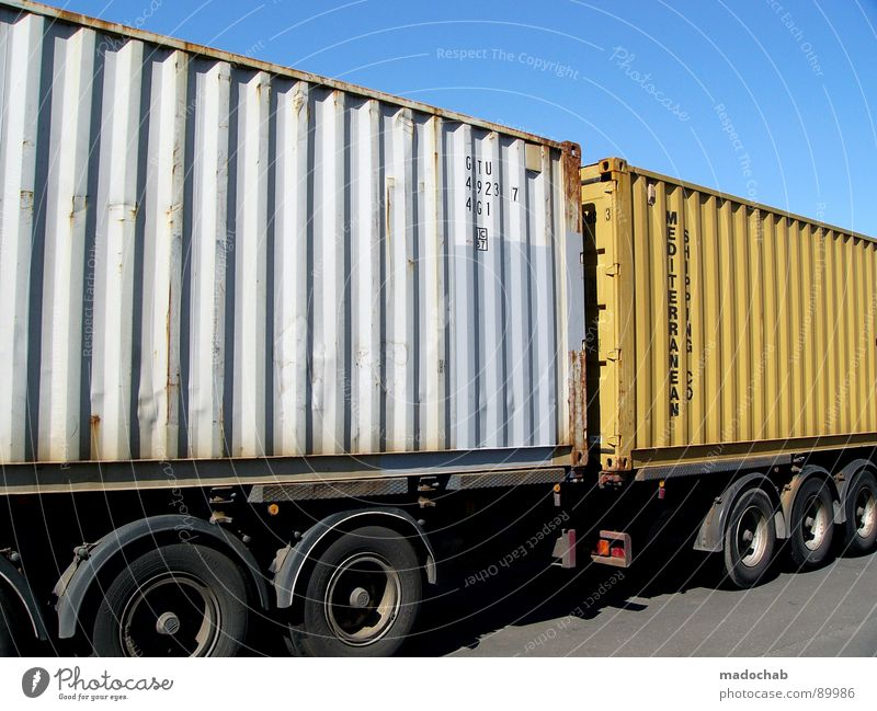 Sky Street Car Power Transport Fresh Force Logistics Truck Container Storage Delivery Keg Followers