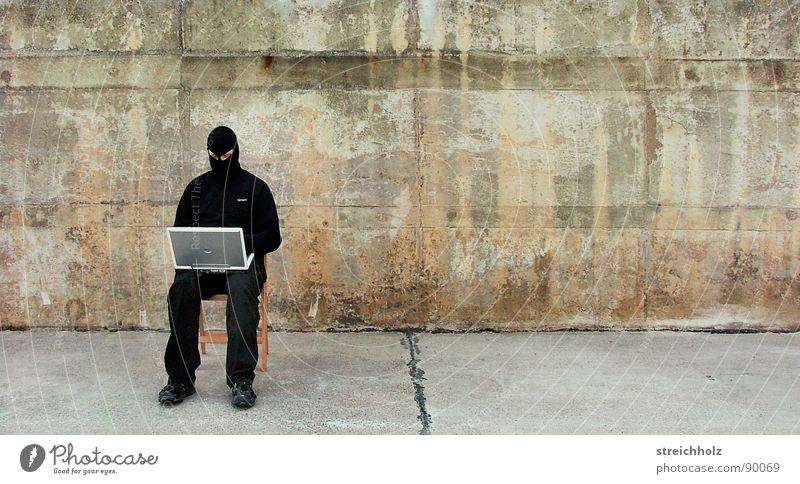 Black Street Freedom Computer Fear Search Success Action Dangerous Communicate Chair Force Notebook Whimsical Fight Anonymous