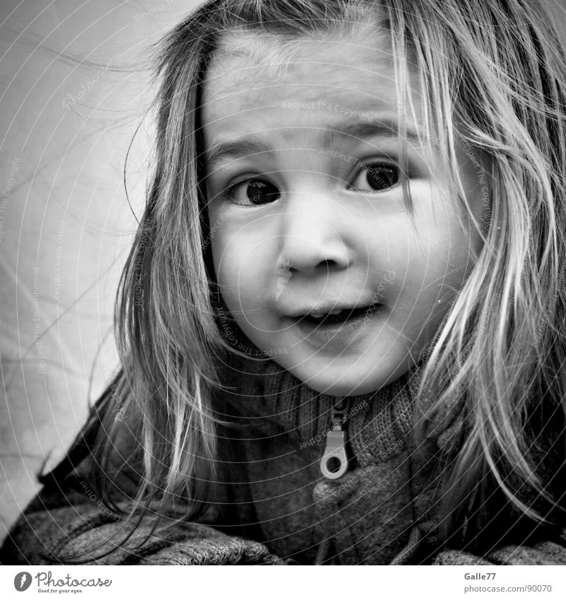 Joanna Portrait photograph Girl Child Alert Playing Sweet Beautiful Happiness Life Clever Joy Joie de vivre (Vitality) Spirited Toddler Facial expression