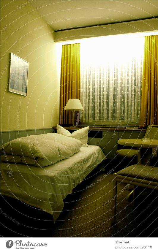 Vacation & Travel Loneliness Far-off places Cold Window Gray Sadness Room Sleep Interior design Gloomy Grief Bed Longing Hotel Furniture