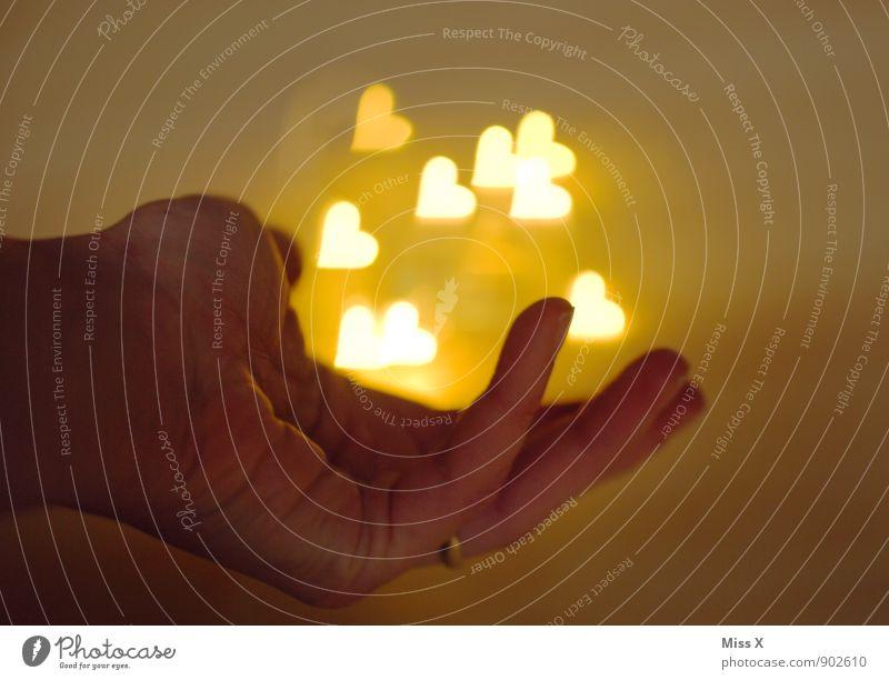 Human being Hand Emotions Love Flying Moody Illuminate Heart Fingers Romance Wedding Infatuation Ease Loyalty Sympathy Flirt