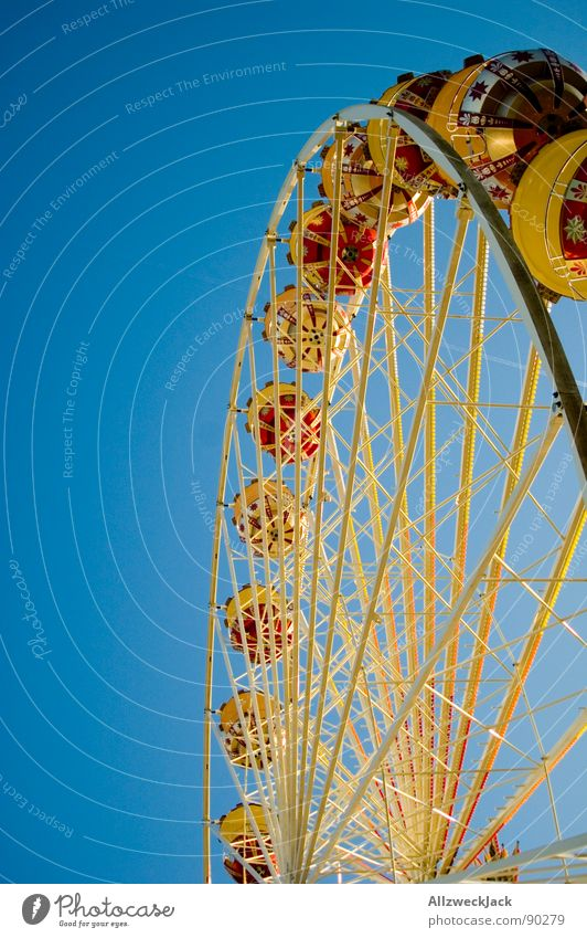 Sky Blue Joy Metal Airplane Tall Circle Round Level Infancy Fairs & Carnivals Iron Oktoberfest Ferris wheel Aspire Showman