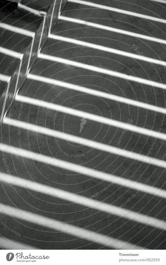 White Black Dark Emotions Line Esthetic Concrete Simple Balcony